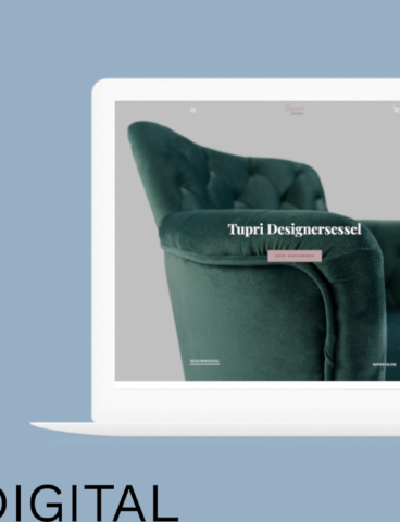 tupri home designersessel db-digital